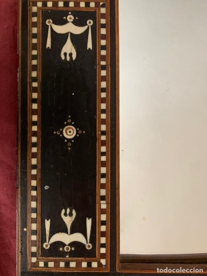 Antigüedades: Marco de taracea - Foto 11 - 178199806