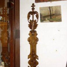 Antigüedades: ORNAMENTO ADORNO SIGLO XVII, MADERA TALLA. Lote 178201300