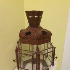 Antigüedades: MUY BONITO FAROL DE TECHO S.XIX. Lote 178207472