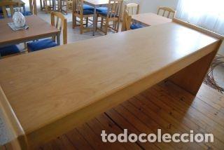 Antigüedades: Mesa rectangular de madera - Foto 2 - 178219833