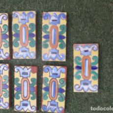Antigüedades: AZULEJOS CENEFAS RAMOS REJANO. Lote 178233482