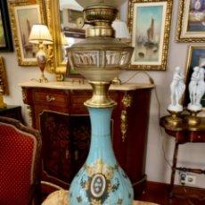 Antigüedades: SOBERBIO QUINQUÉ ELECTRIFICADO . Lote 178244071