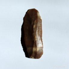 Antigüedades: CUCHILLO DE SILEX NEOLITICO. Lote 178246651