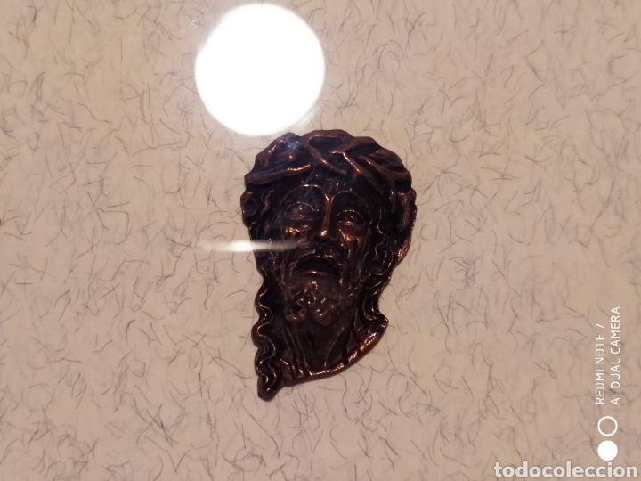 Antigüedades: ROSTROS DE CRISTOS DE ZAMORA, EN METAL, ENMARCADOS, ÚNICOS, VER - Foto 9 - 178250005