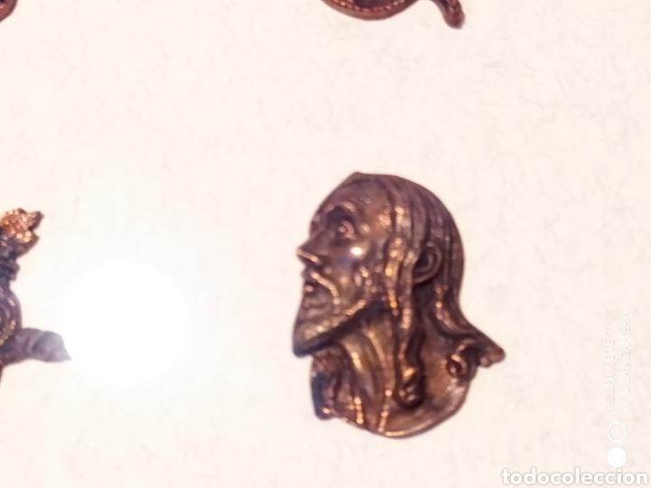 Antigüedades: ROSTROS DE CRISTOS DE ZAMORA, EN METAL, ENMARCADOS, ÚNICOS, VER - Foto 14 - 178250005