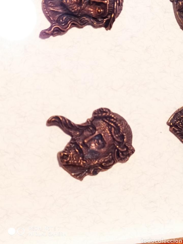 Antigüedades: ROSTROS DE CRISTOS DE ZAMORA, EN METAL, ENMARCADOS, ÚNICOS, VER - Foto 16 - 178250005