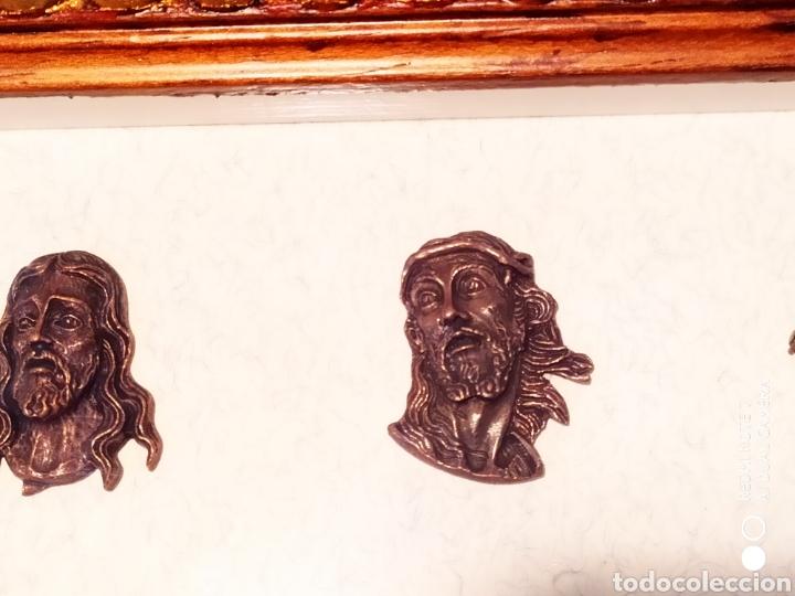 Antigüedades: ROSTROS DE CRISTOS DE ZAMORA, EN METAL, ENMARCADOS, ÚNICOS, VER - Foto 23 - 178250005