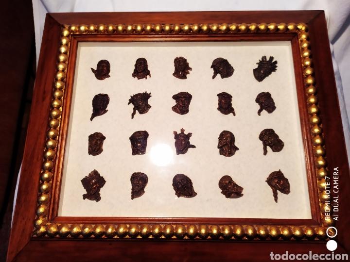 Antigüedades: ROSTROS DE CRISTOS DE ZAMORA, EN METAL, ENMARCADOS, ÚNICOS, VER - Foto 26 - 178250005