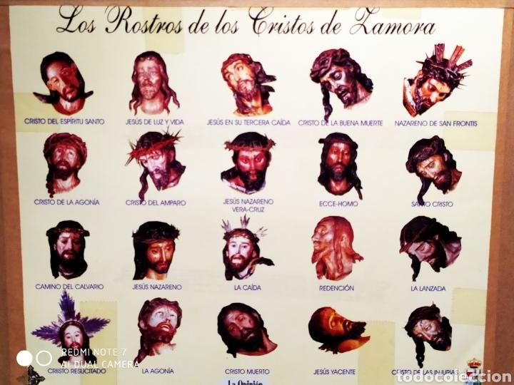 Antigüedades: ROSTROS DE CRISTOS DE ZAMORA, EN METAL, ENMARCADOS, ÚNICOS, VER - Foto 32 - 178250005