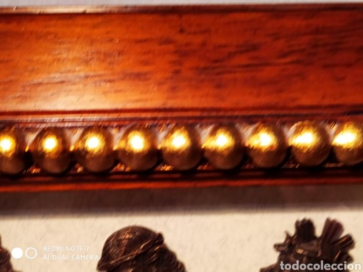 Antigüedades: ROSTROS DE CRISTOS DE ZAMORA, EN METAL, ENMARCADOS, ÚNICOS, VER - Foto 35 - 178250005