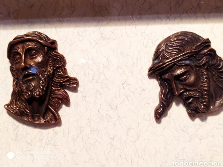 Antigüedades: ROSTROS DE CRISTOS DE ZAMORA, EN METAL, ENMARCADOS, ÚNICOS, VER - Foto 43 - 178250005