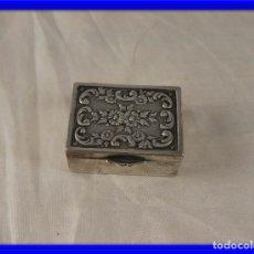 Antigüedades: PASTILLERO DE PLATA PUNZON ESTRELLA. Lote 178258961