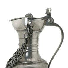 Antigüedades: ANTIGUA JARRA DE CERVEZA SUIZA. Lote 178266451