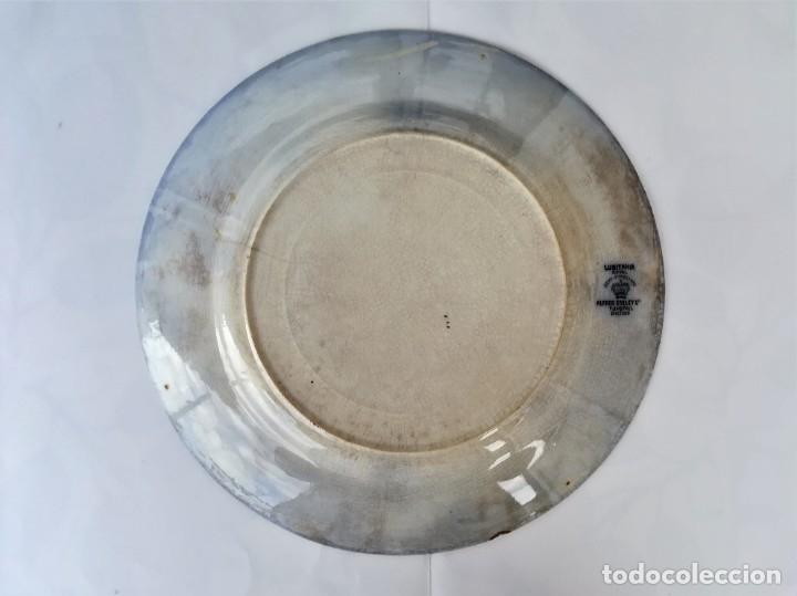 Antigüedades: PLATO DE CERAMICA INGLESA,LUSITANIA ROYAL,AÑO 1905-DE BUQUE HUNDIDO POR TORPEDO,SIMILAR COMO TITANIC - Foto 3 - 178288077
