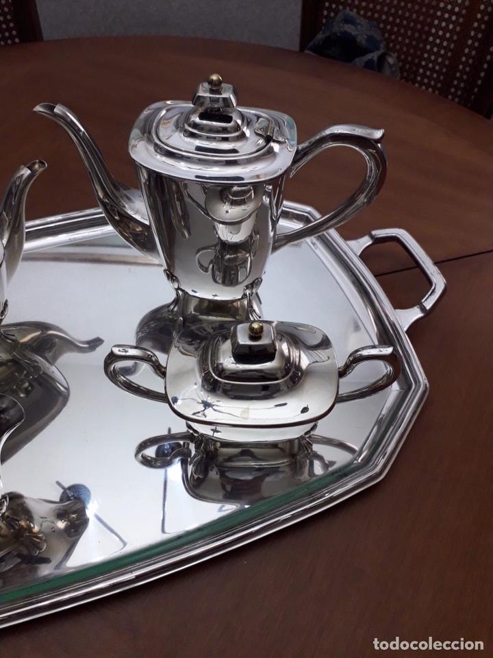 Antigüedades: Pedro Duran, juego café, Alpadur - Foto 3 - 178300643