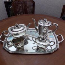 Antigüedades: PEDRO DURAN, JUEGO CAFÉ, ALPADUR. Lote 178300643
