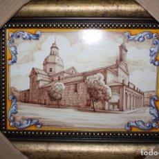 Antigüedades: CUADRO DE CERÁMICA DE TALAVERA.. Lote 178321882