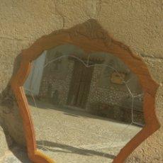 Antigüedades: ESPEJO ANTIGUO BISELADO.. Lote 178385978