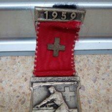 Antigüedades: MEDALLA SUIZA AL TRABAJO 1959.. Lote 178387275