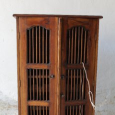 Antigüedades: MUEBLE BOTELLERO EN MADERA MACIZA. Lote 178397073