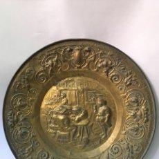 Antigüedades: PAREJA DE PLATOS ANTIGUOS. Lote 178557921