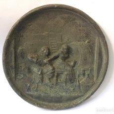 Antigüedades: PAREJA DE PLATOS ANTIGUOS. Lote 178558410