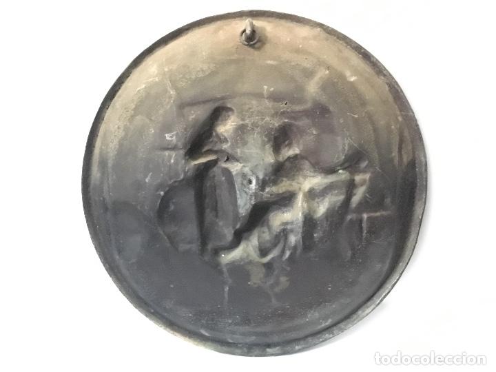 Antigüedades: Pareja de platos antiguos - Foto 3 - 178558410