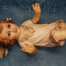 Antigüedades: NIÑO JESÚS VESTIDO. Lote 178574296