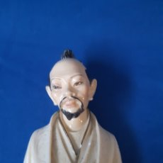 Antigüedades: FIGURA DE UN JAPONES FIRMADA POR A.GIANNELLI. Lote 178583892