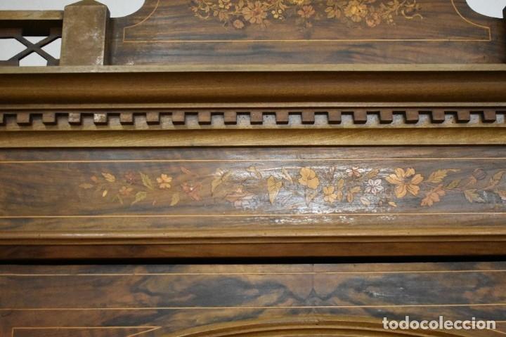 Antigüedades: ESPECTACULAR ARMARIO ALFONSINO - Foto 6 - 178594038