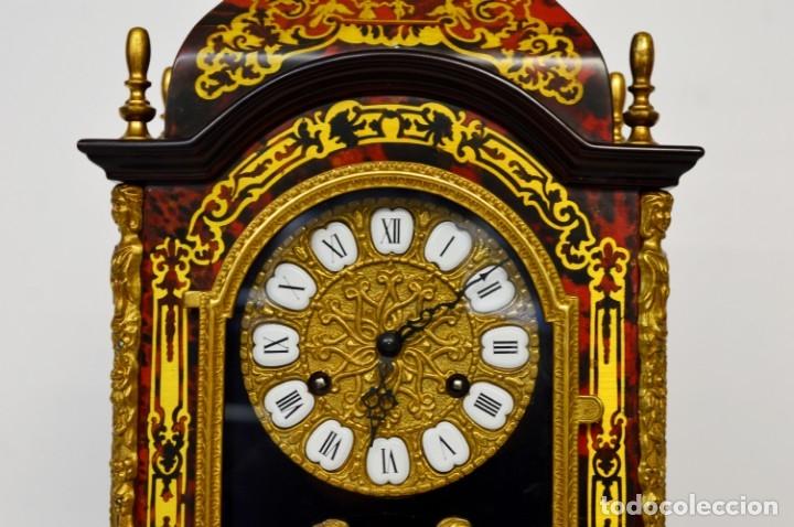Antigüedades: FHS, reloj de mesa - Foto 2 - 178598558