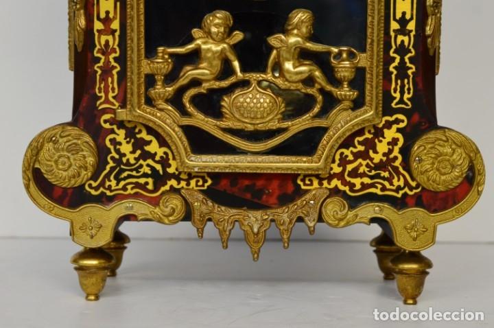 Antigüedades: FHS, reloj de mesa - Foto 3 - 178598558