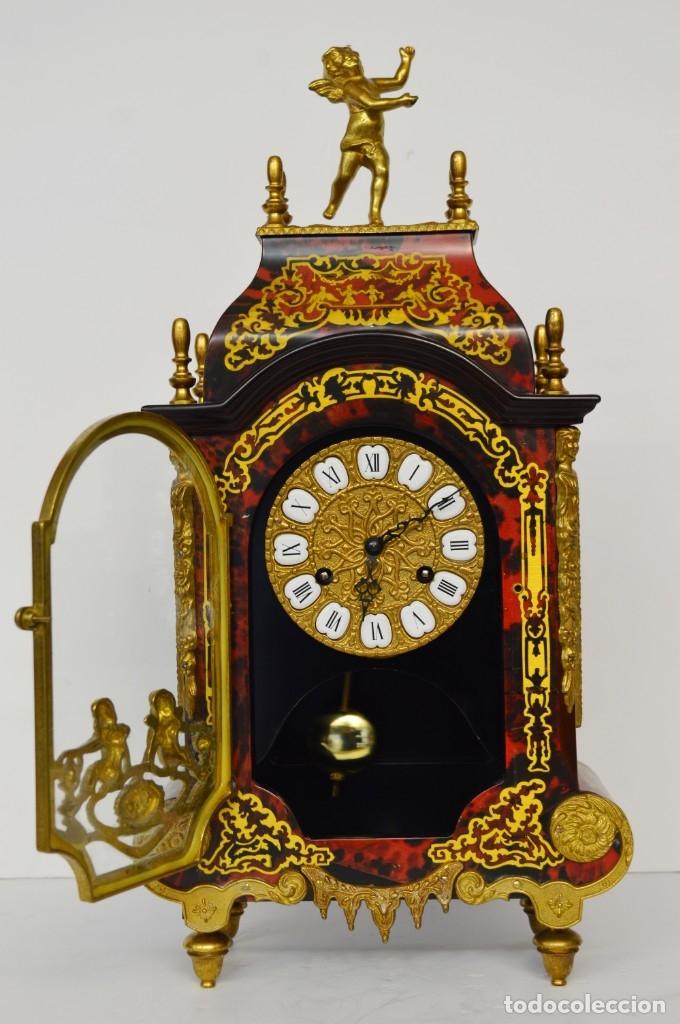 Antigüedades: FHS, reloj de mesa - Foto 4 - 178598558