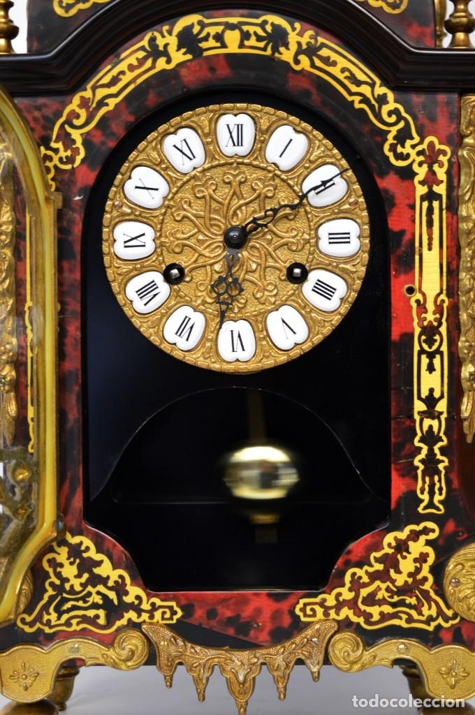 Antigüedades: FHS, reloj de mesa - Foto 5 - 178598558