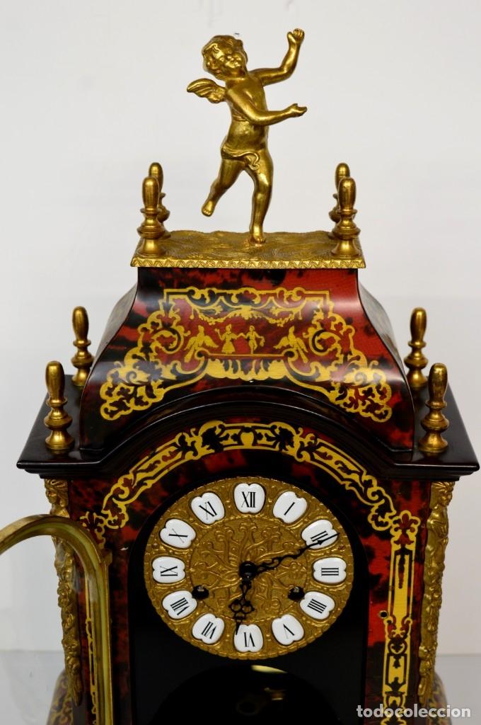 Antigüedades: FHS, reloj de mesa - Foto 6 - 178598558