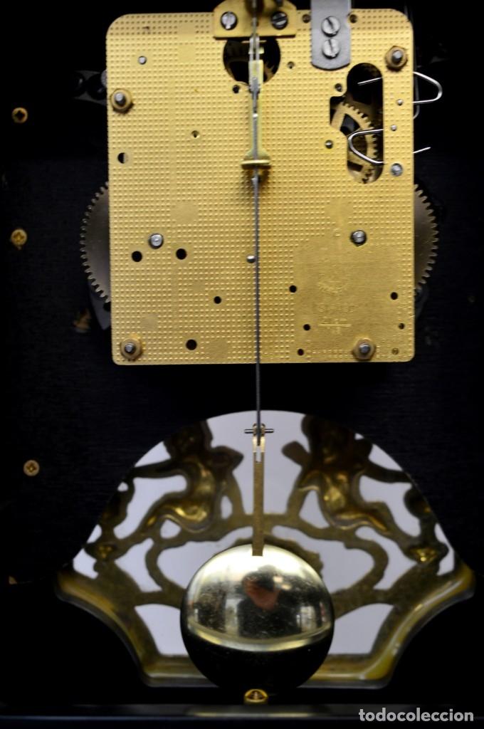 Antigüedades: FHS, reloj de mesa - Foto 12 - 178598558