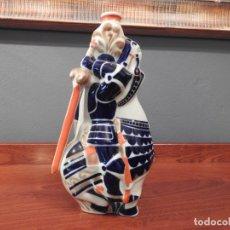 Antigüedades: BOTELLA SARGADELOS PEDRO MADRUGA. PIEZA NUMERADA (CON CAJA ORIGINAL). Lote 178603057