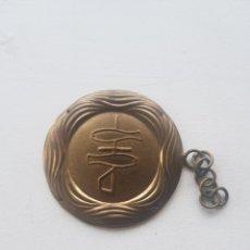 Antigüedades: HEBILLA CAPA PLUVIAL S.XIX SAN SEBASTIAN. Lote 178605216