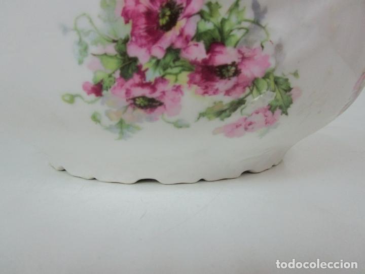 Antigüedades: Precioso Aguamanil Modernista - Palangana y Jarra - Porcelana Esmaltada - Foto 6 - 178609373