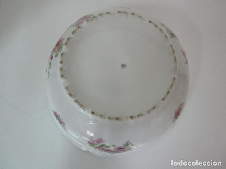 Antigüedades: Precioso Aguamanil Modernista - Palangana y Jarra - Porcelana Esmaltada - Foto 12 - 178609373