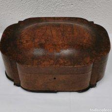 Antigüedades: CAJA-JOYERO ANTIGUO. Lote 178614316