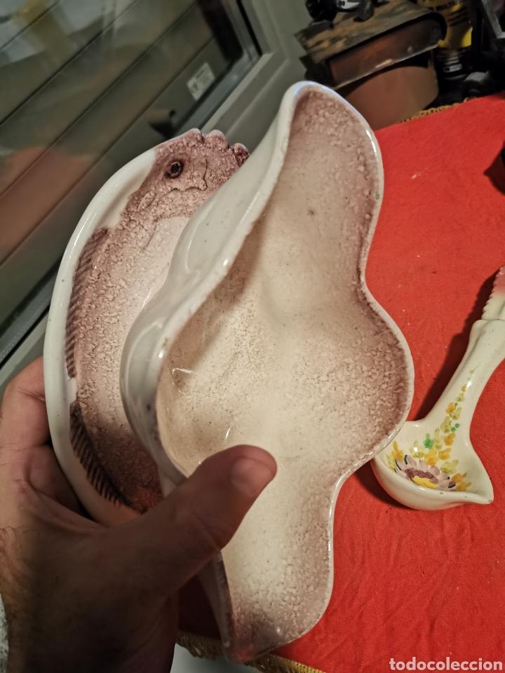 Antigüedades: Preciosa salsera de porcelana antigua - Foto 3 - 178617236