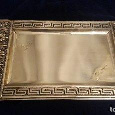 Antigüedades: BANDEJA DE PLATA.. Lote 178625075