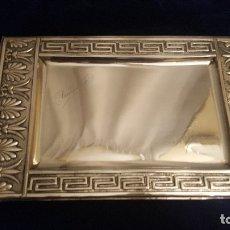 Antigüedades: BANDEJA DE PLATA APERITIVOS.. Lote 178625538