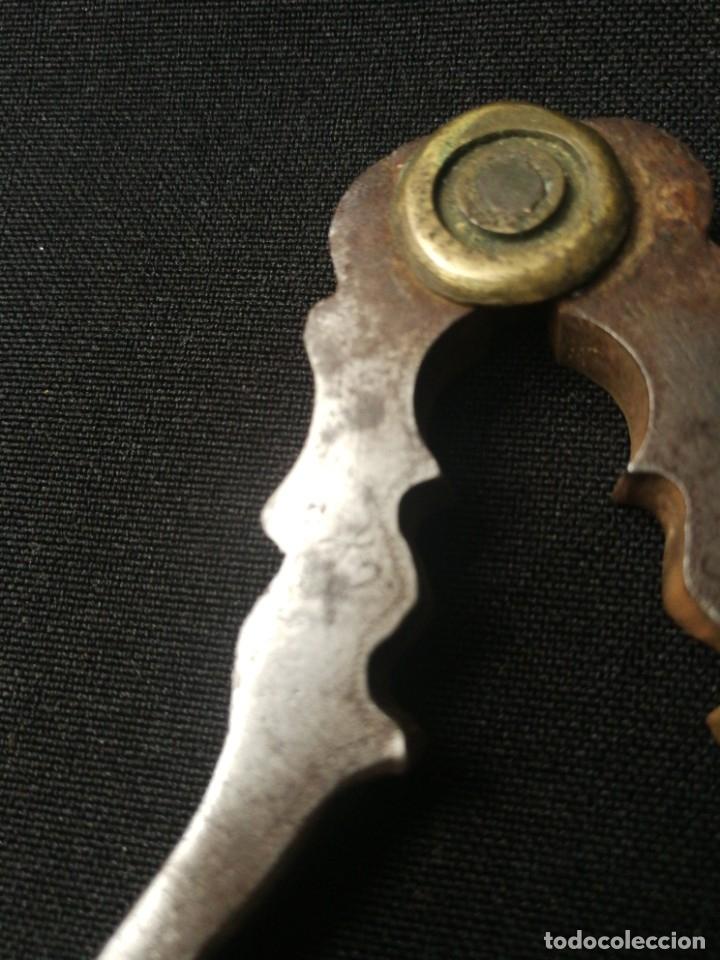 Antigüedades: Antigua pareja de cascapiñones - Foto 7 - 178637103
