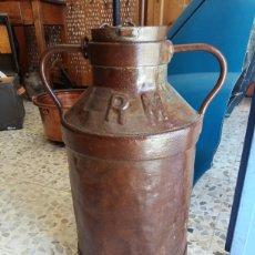 Antigüedades: LECHERA HIERRO ANTIGUA. Lote 178648855