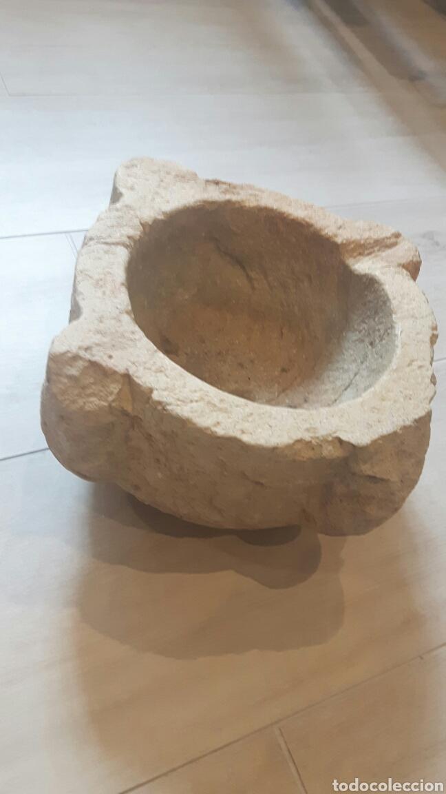 Antigüedades: ALMIREZ MORTERO PIEDRA S.XIX - Foto 7 - 130896144