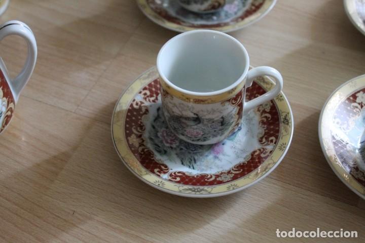Antigüedades: JUEGO CAFÉ O TÉ PORCELANA JAPONESA YUHKI TANAKA - Foto 6 - 178664558