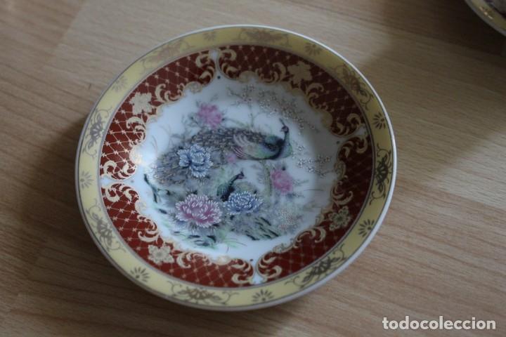Antigüedades: JUEGO CAFÉ O TÉ PORCELANA JAPONESA YUHKI TANAKA - Foto 7 - 178664558