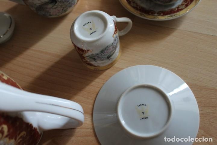 Antigüedades: JUEGO CAFÉ O TÉ PORCELANA JAPONESA YUHKI TANAKA - Foto 10 - 178664558